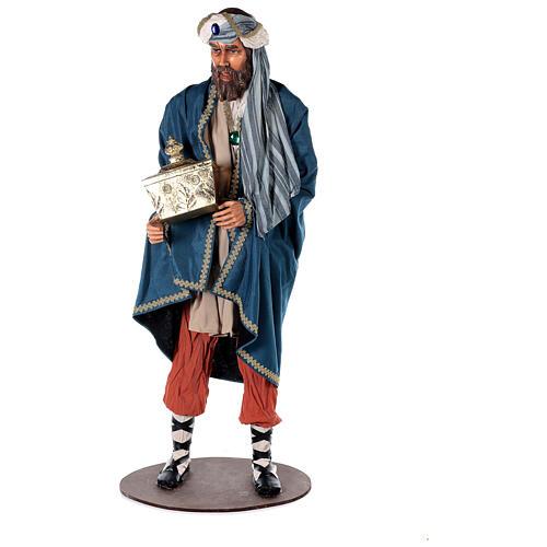 Rey Magos Lifesize 170 cm de resina y tejido 5