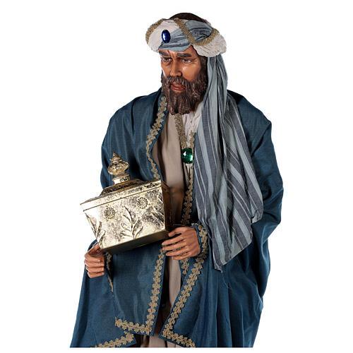 Rey Magos Lifesize 170 cm de resina y tejido 8