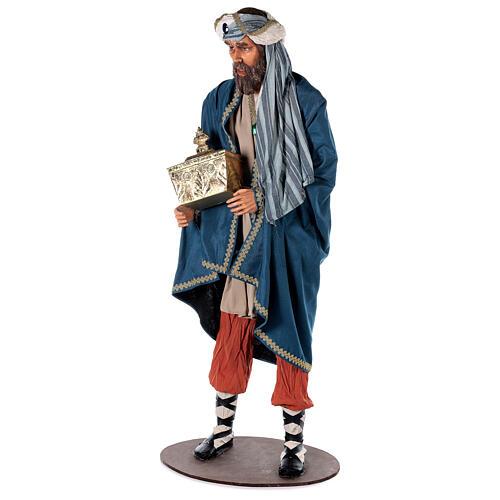 Rey Magos Lifesize 170 cm de resina y tejido 11