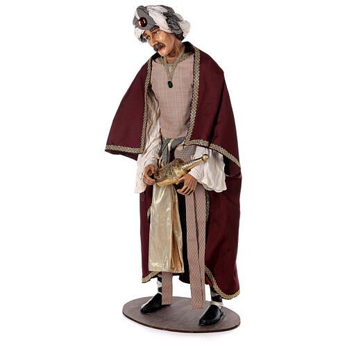Rey Magos Lifesize 170 cm de resina y tejido 12