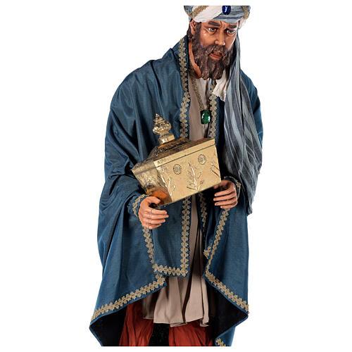 Rey Magos Lifesize 170 cm de resina y tejido 14