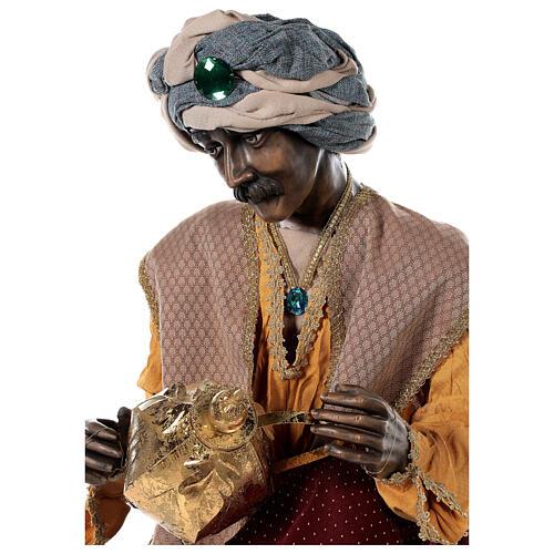 Rey Magos Lifesize 170 cm de resina y tejido 16