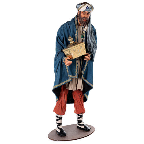 Rey Magos Lifesize 170 cm de resina y tejido 17