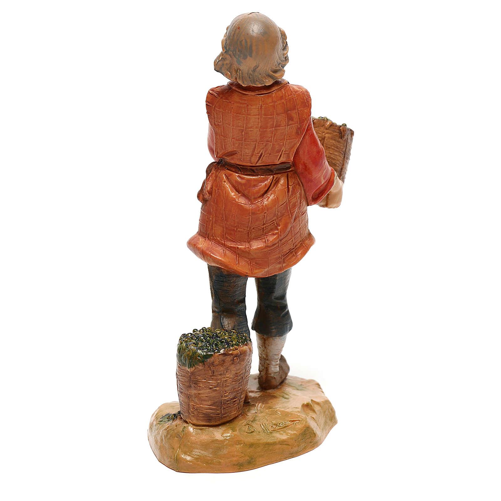 Sprzedawca jaj Fontanini do szopki 12 cm 4