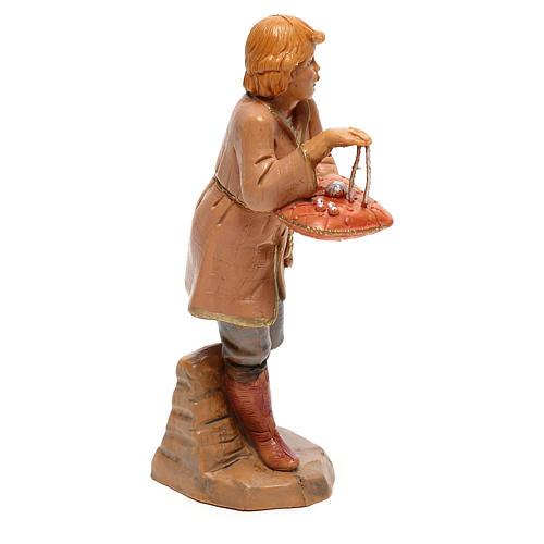 Vendedor joyas Fontanini para belén de 12 cm 3