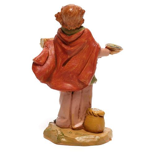Vendedora de especiarias para presépio Fontanini com figuras de 12 cm de altura média 4