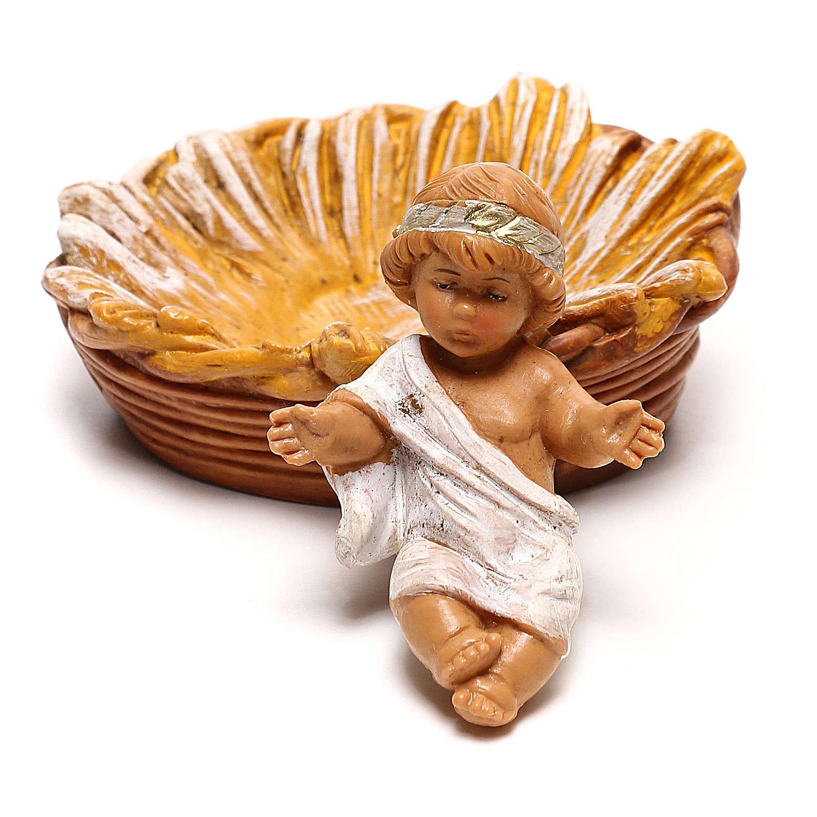 Nativité arabe Fontanini pour crèche de 12 cm 4
