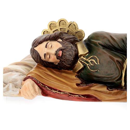 Saint Joseph endormi résine Fontanini 38 cm 2