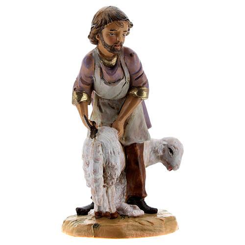 Esquilador ovejas belén Fontanini 12 cm 3