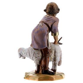 Tondeur de moutons crèche Fontanini 12 cm s4