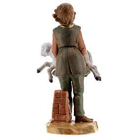 Jeune avec mouton crèche Fontanini 12 cm s4