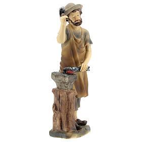 Blacksmith figurine 14 cm nativity s3