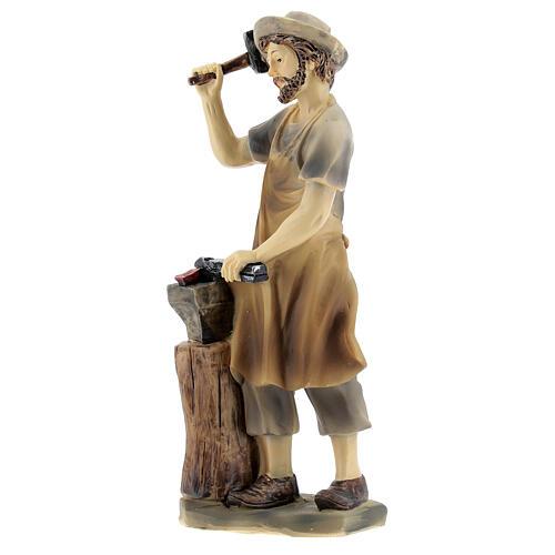 Blacksmith figurine 14 cm nativity 2