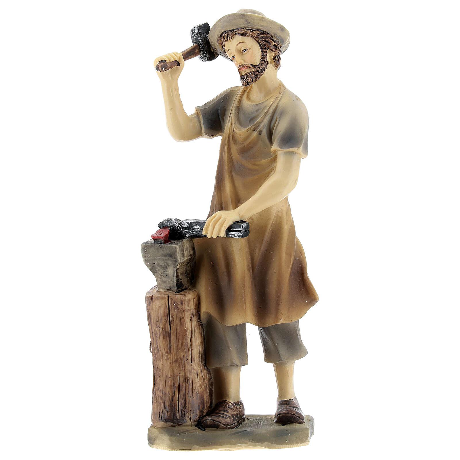Blacksmith figurine 14 cm nativity 3