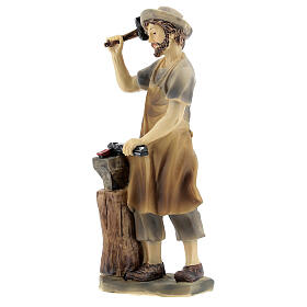 Blacksmith figurine 14 cm nativity s2