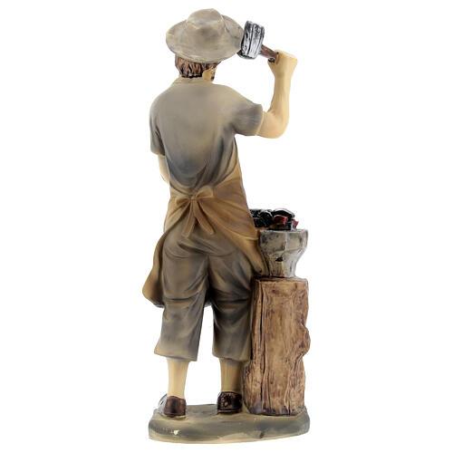 Blacksmith figurine 14 cm nativity 4