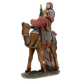 Re Magi con cammello presepe 12 cm s3
