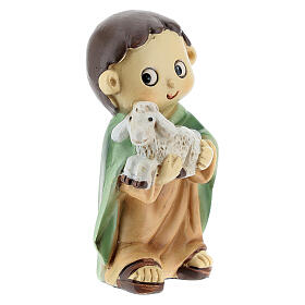 Shepherd for kids nativity set 10 cm s3