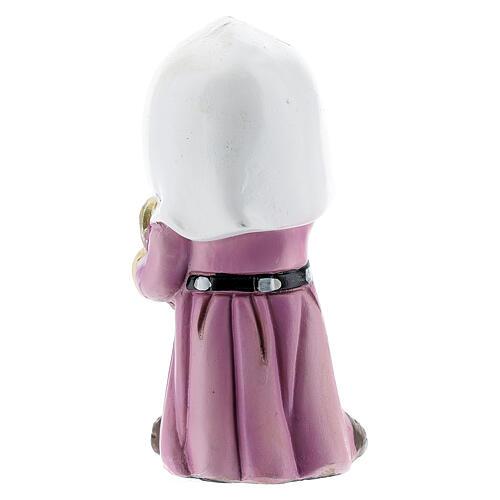Girl farmer statue with jug 10 cm kids nativity line 4