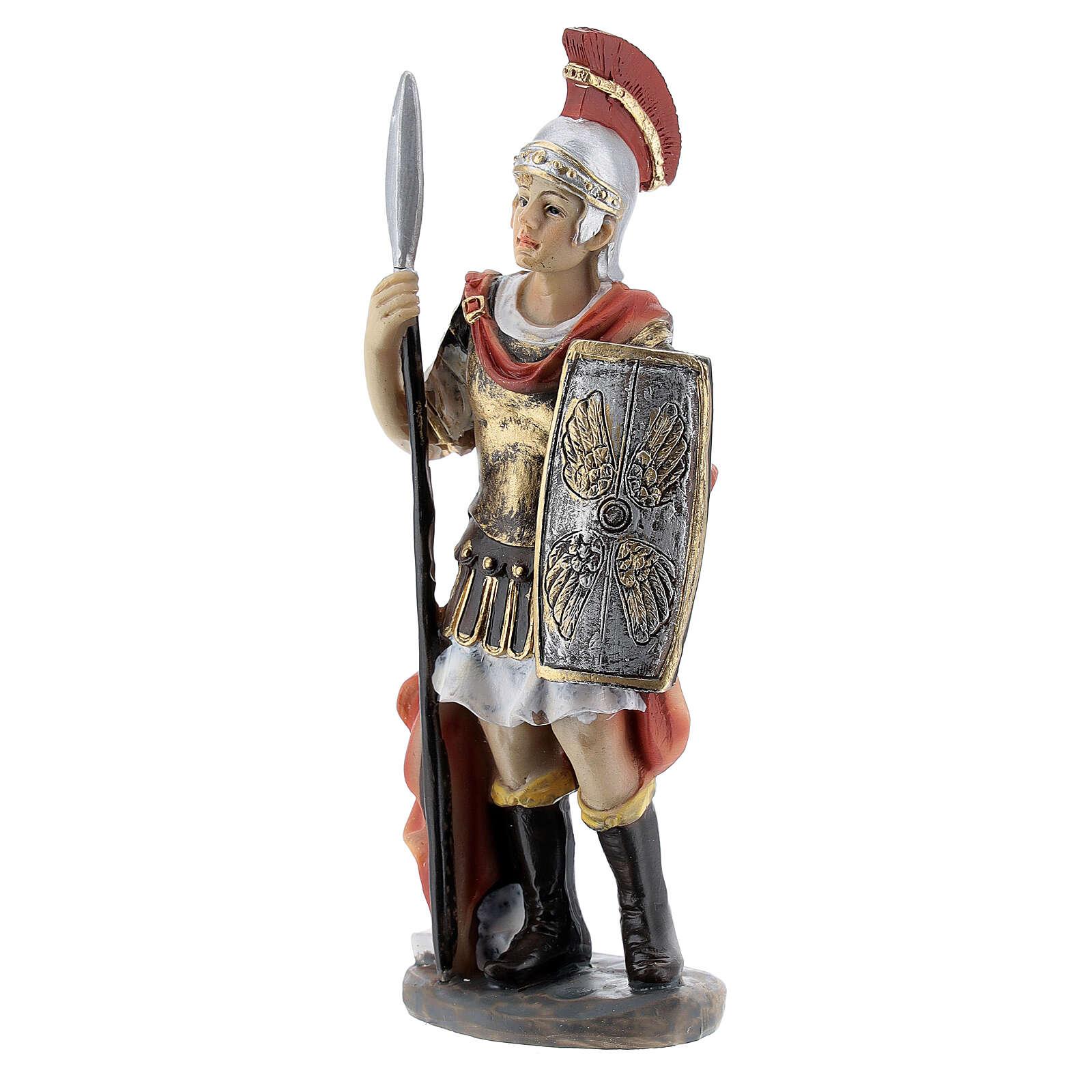 Coppia soldati romani presepe 12 cm 3