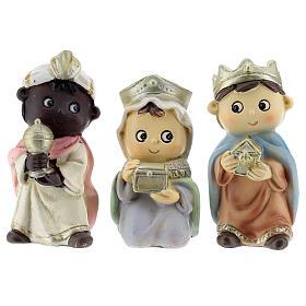 Three Kings figurines kids lines 10 cm s1