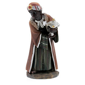 Adoring Wise Men resin nativity 12 cm s2