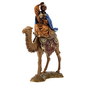 Three Kings with camel for Moranduzzo 18th-century-style Nativity scene 10 cm s7