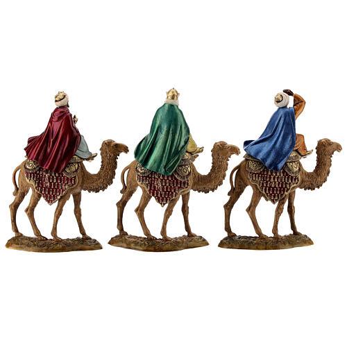 Three Kings with camel for Moranduzzo 18th-century-style Nativity scene 10 cm 8