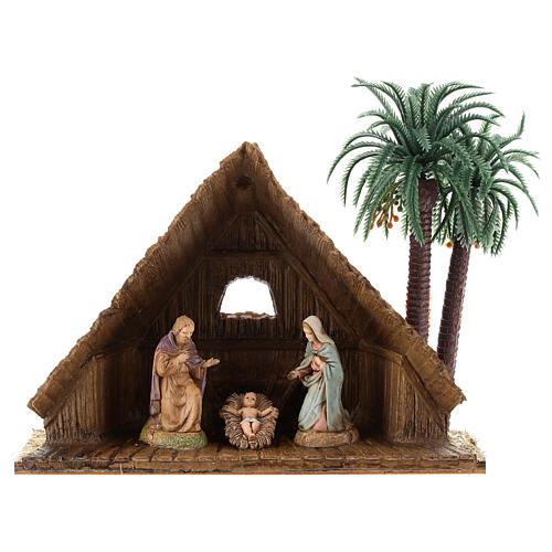 Three Kings with camel for Moranduzzo 18th-century-style Nativity scene 10 cm 9