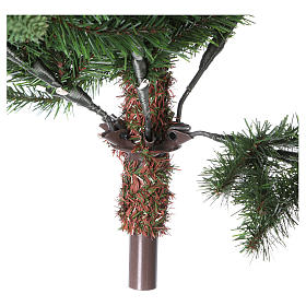 Albero di Natale 210 cm verde Poly Somerset s5