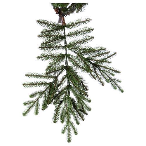Árbol de Navidad 225 cm Poly Imperial verde 6