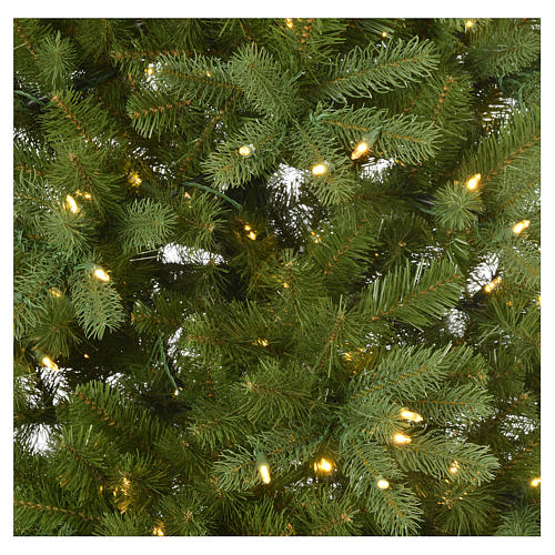 Albero di Natale 180 cm Poly memory shape luci Bluetooth 4