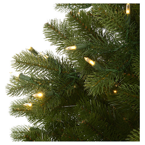 Árbol de Navidad 210 cm Poly modelo Bayberry Prelit 9 funciones con Bluetooth 6