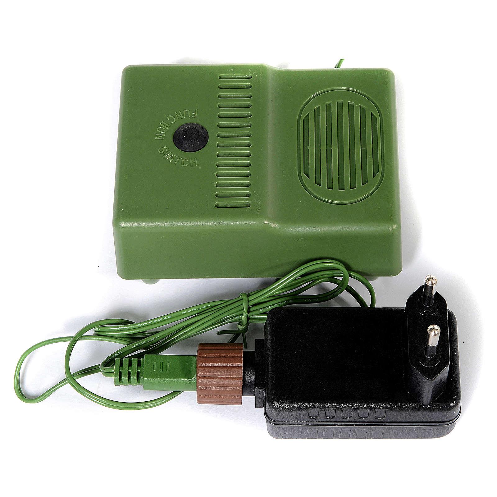 Sapin de Noël 210 cm Bayberry Prelit 9 fonctions avec éclairage et Bluetooth 3