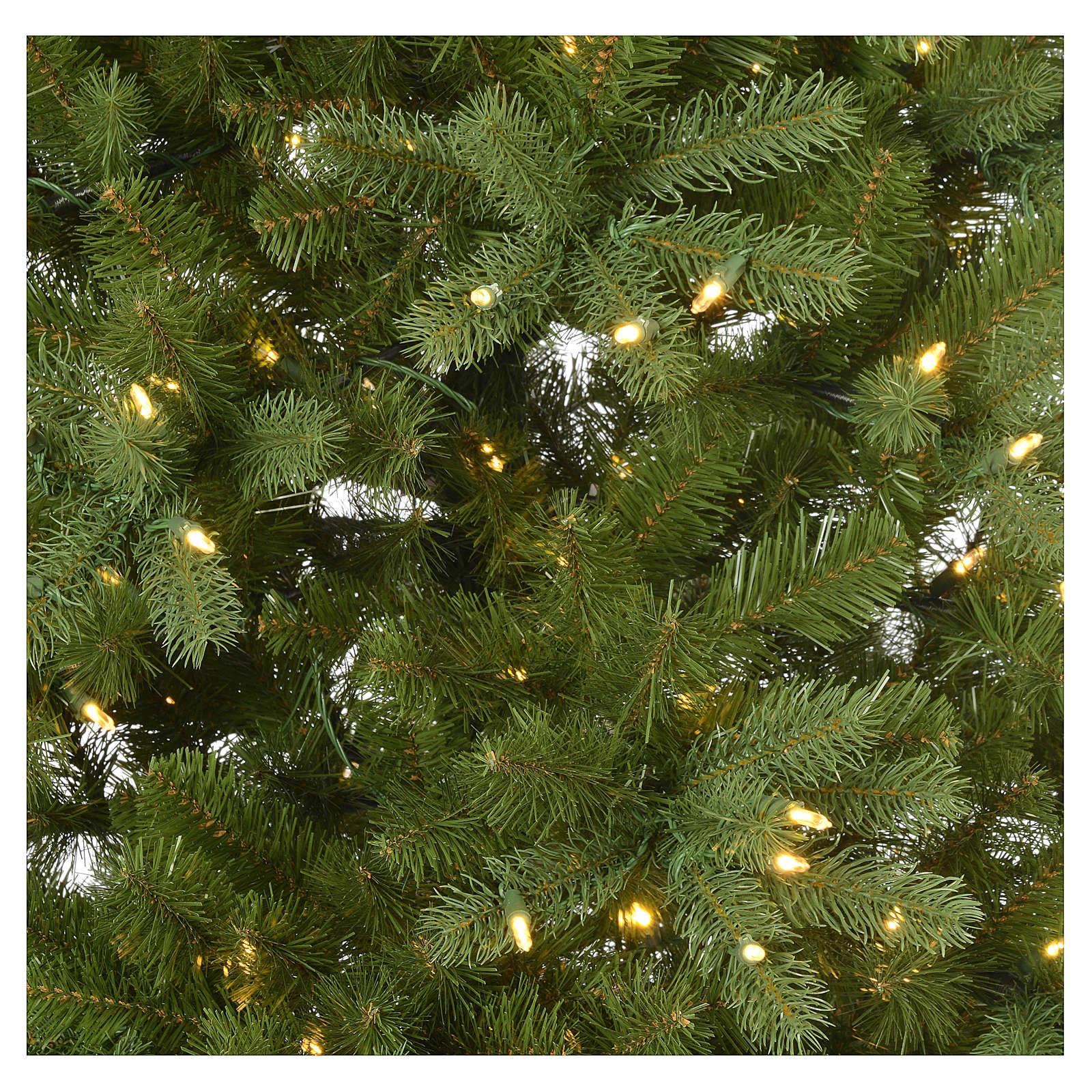 Albero di Natale 210 cm Poly verde memory shape luci Bluetooth 3