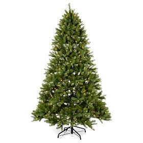 Albero di Natale 210 cm Poly verde memory shape luci Bluetooth s1