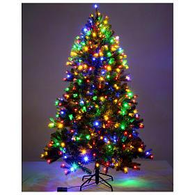 Árbol de Navidad 225 cm verde Poly Memory Shape luces Bluetooth s2