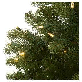 Árbol de Navidad 225 cm verde Poly Memory Shape luces Bluetooth s5