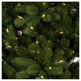 Albero di Natale 225 cm verde Poly memory shape luci Bluetooth s3