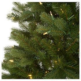 Albero di Natale 225 cm verde Poly memory shape luci Bluetooth s4