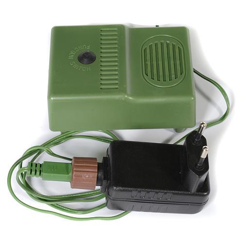 Albero di Natale 225 cm verde Poly memory shape luci Bluetooth 7