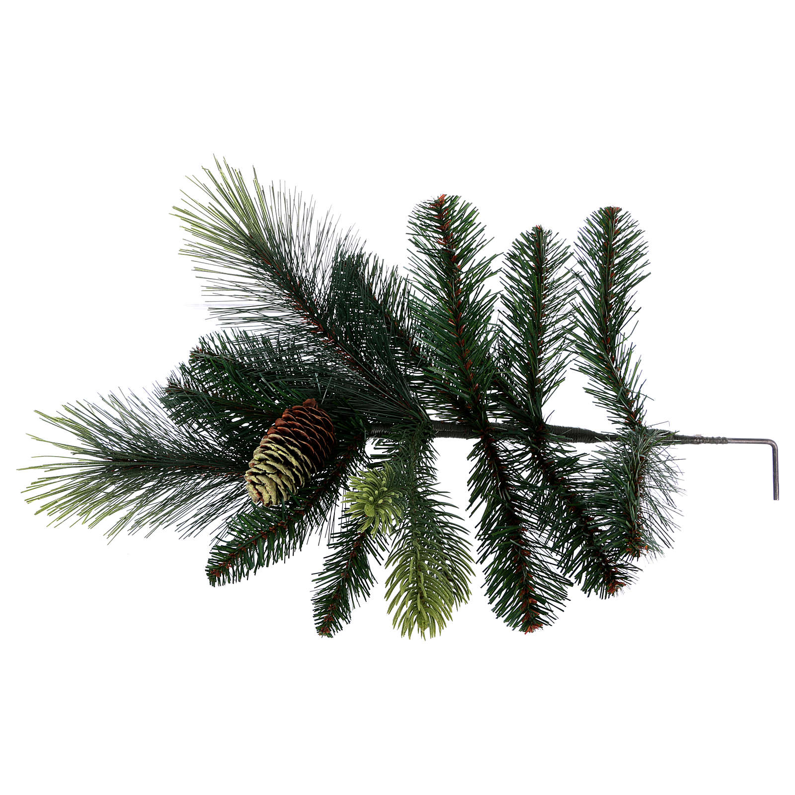 Christmas tree 180 cm, green with pine cones Carolina 3
