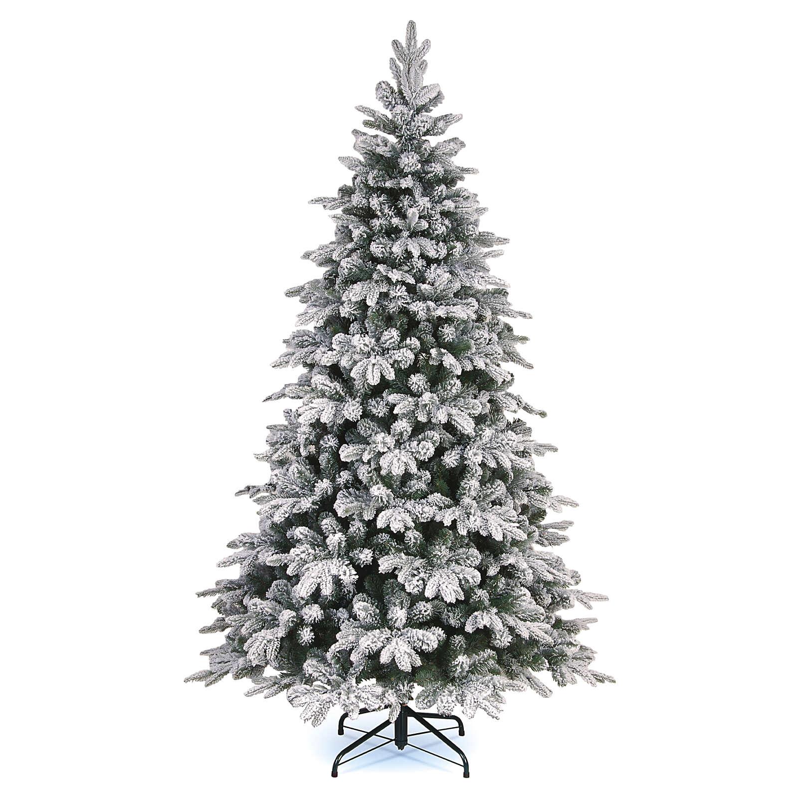 Weihnachtsbaum Everest aus Polyethylen mit Schneeeffekt, 240 cm 3