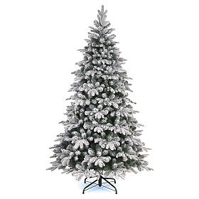 Weihnachtsbaum Everest aus Polyethylen mit Schneeeffekt, 240 cm s1