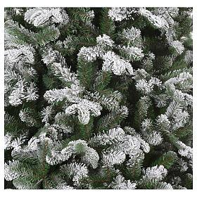 Árbol de Navidad 270 cm modelo Poly Everest copos nieve s2