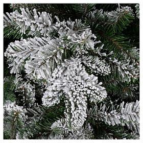 Árbol de Navidad 270 cm modelo Poly Everest copos nieve s3