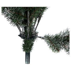Árbol de Navidad 270 cm modelo Poly Everest copos nieve s5