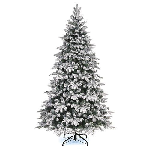 Árbol de Navidad 270 cm modelo Poly Everest copos nieve 1