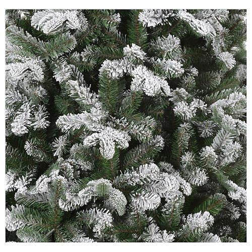 Árbol de Navidad 270 cm modelo Poly Everest copos nieve 2
