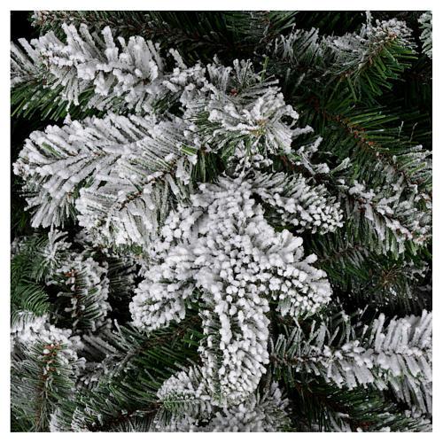 Árbol de Navidad 270 cm modelo Poly Everest copos nieve 3